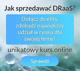 Szkolenie jak sprzedawać DRaaS